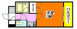 ライズィング・サン 705号室[7階]の間取り