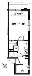 アーバンリゾート中目黒パート4[1階]の間取り