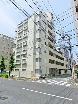 【外観】「綾瀬」駅徒歩10分・南向きの角部屋・3DK