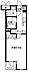 間取り,1K,面積27.08m2,賃料8.4万円,JR中央線 三鷹駅 徒歩14分,JR中央線 武蔵境駅 徒歩24分,東京都武蔵野市西久保2丁目17-17