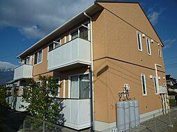 長野県駒ヶ根市赤須東の賃貸アパートの外観
