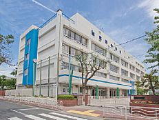 周辺環境-中学校(1400m)江東区立東陽中学校