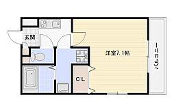 H-maison(アッシュメゾン)加美正覚寺II[1階]の間取り