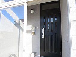 風除室扉と、玄...