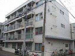 北海道札幌市中央区南四条西12丁目の賃貸アパートの外観