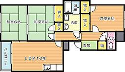メゾン菊栄II[2階]の間取り