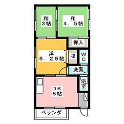 池ノ島ビル[3階]の間取り