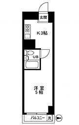 ソレイユ桜台[6階]の間取り