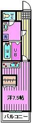 リースランド浦和[2階]の間取り