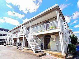 東京都東久留米市神宝町2丁目の賃貸アパートの外観