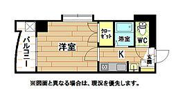 福岡県北九州市小倉北区木町3丁目の賃貸マンションの間取り