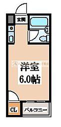OMレジデンス白鷺[4階]の間取り