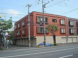 北海道札幌市東区北二十四条東12丁目の賃貸アパートの外観