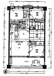 アクロス空港イーストステージ[4階]の間取り