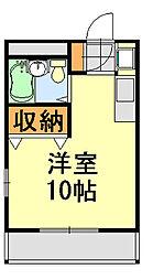セ・ロワイヤル[105号室]の間取り
