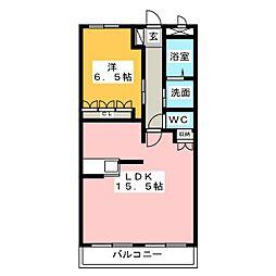 舞宝夢[2階]の間取り