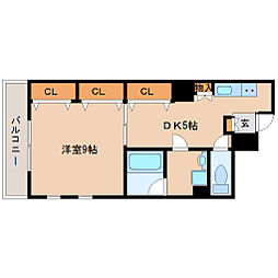 サニーマンション3[3階]の間取り
