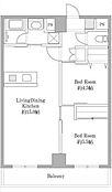 広々としたリビングと南西のバルコニーが特徴的です。フリーダイヤル0120-102-588までお問合せください。