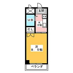 サンガーデン[2階]の間取り