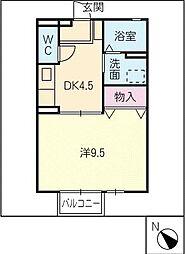 ダイワロイヤルタウンA[2階]の間取り