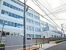 周辺環境-中学校(350m)板橋区立第二中学校