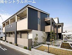 大阪府堺市堺区北清水町3丁の賃貸アパートの外観