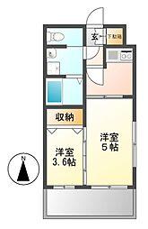 カレント茶屋ヶ坂[9階]の間取り
