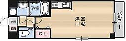 グランシャリオB棟[301号室号室]の間取り