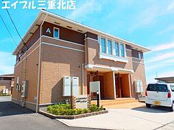 三重県三重郡川越町大字亀尾新田の賃貸アパートの外観