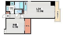 プライムツリー内久宝寺[10階]の間取り