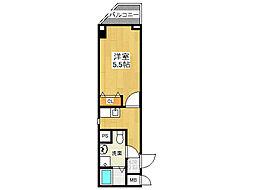 リッツ スクエア マ メゾン[3階]の間取り