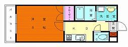 シーサイド三苫センタービル[4階]の間取り