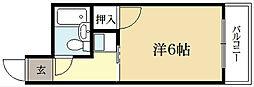 CASA VIEHA[2階]の間取り