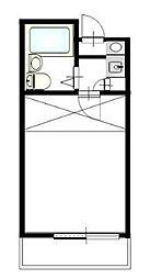 リヴィエ一ル戸塚II(リビエ一ルトツカ2)[2階]の間取り