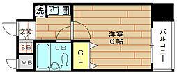 エスリード野田[9階]の間取り