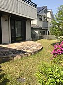 南側の庭スペースです。