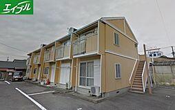 三重県四日市市阿倉川町の賃貸アパートの外観