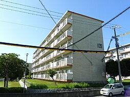 新多聞第二住宅[4階]の外観