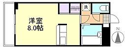 プレアール笹沖[302号室]の間取り