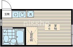 137−若林ハイツ[103号室]の間取り