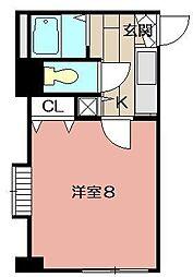 ベイサイドアネックス[4階]の間取り
