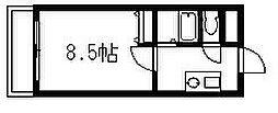 エース弐番館[305号室]の間取り