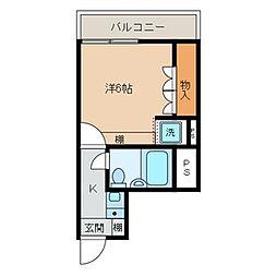 コンフェスト晋栄2[301号室]の間取り