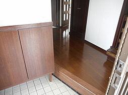 収納付きの玄関