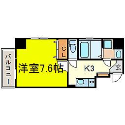 LEXCEED izumi[8階]の間取り