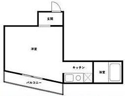 シティハイツ高松ロイヤル[3階]の間取り