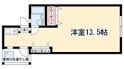 casa128[A号室]の間取り