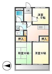 サンシャイン大須中駒ビル[10階]の間取り