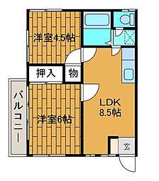 メゾンYS[2階]の間取り