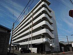愛媛県松山市安城寺町の賃貸マンションの外観